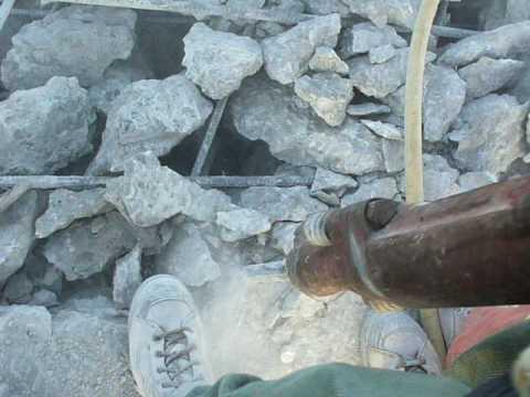 Demolition AC Construction concrete breaker 4