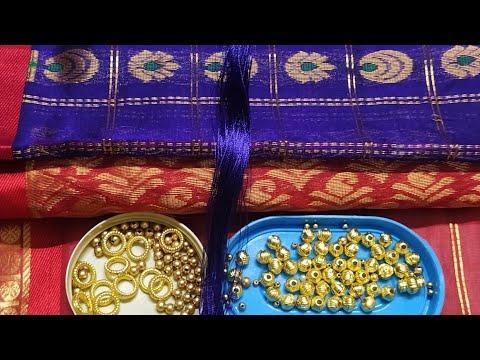 Normal Sewing Needle Grand Design Saree Kuchu Crochet/Korsha !! Bridal Heavy Work Design  !! Smart
