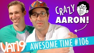Live Streams, Creature Eye Lollipops, and Crazy Aaron | A.T. 106