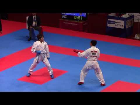 18th Asian Games Women's -61kg Alipourkeshka R (Iran) vs Shin Sujung (Korea)
