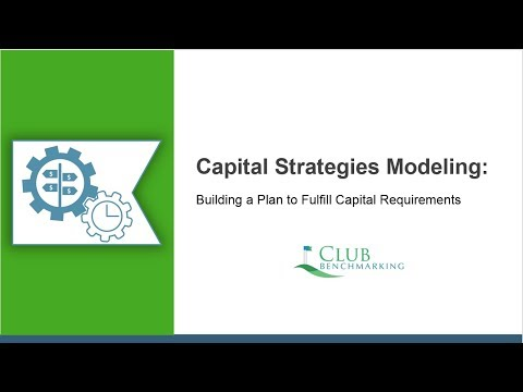 Capital Strategies Modeling:  Building a Plan to Fulfill Capital Requirements Over Time