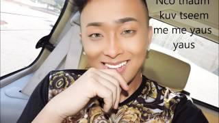 Hmong New Song 2016 - 17 Xeeb Yaj - Nco lub xog pa official lyrics and song