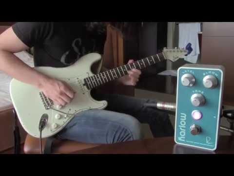 Bogner Harlow boost/compressor, demo by Pete Thorn