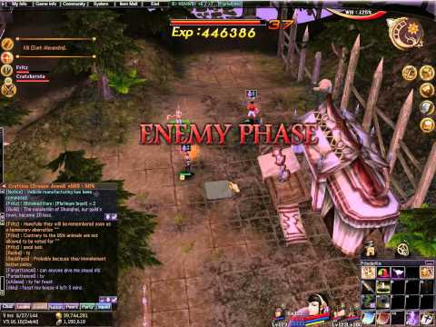 Atlantica Online TBS mission: Hidden Power (Fritz, musician main, lvl 123)