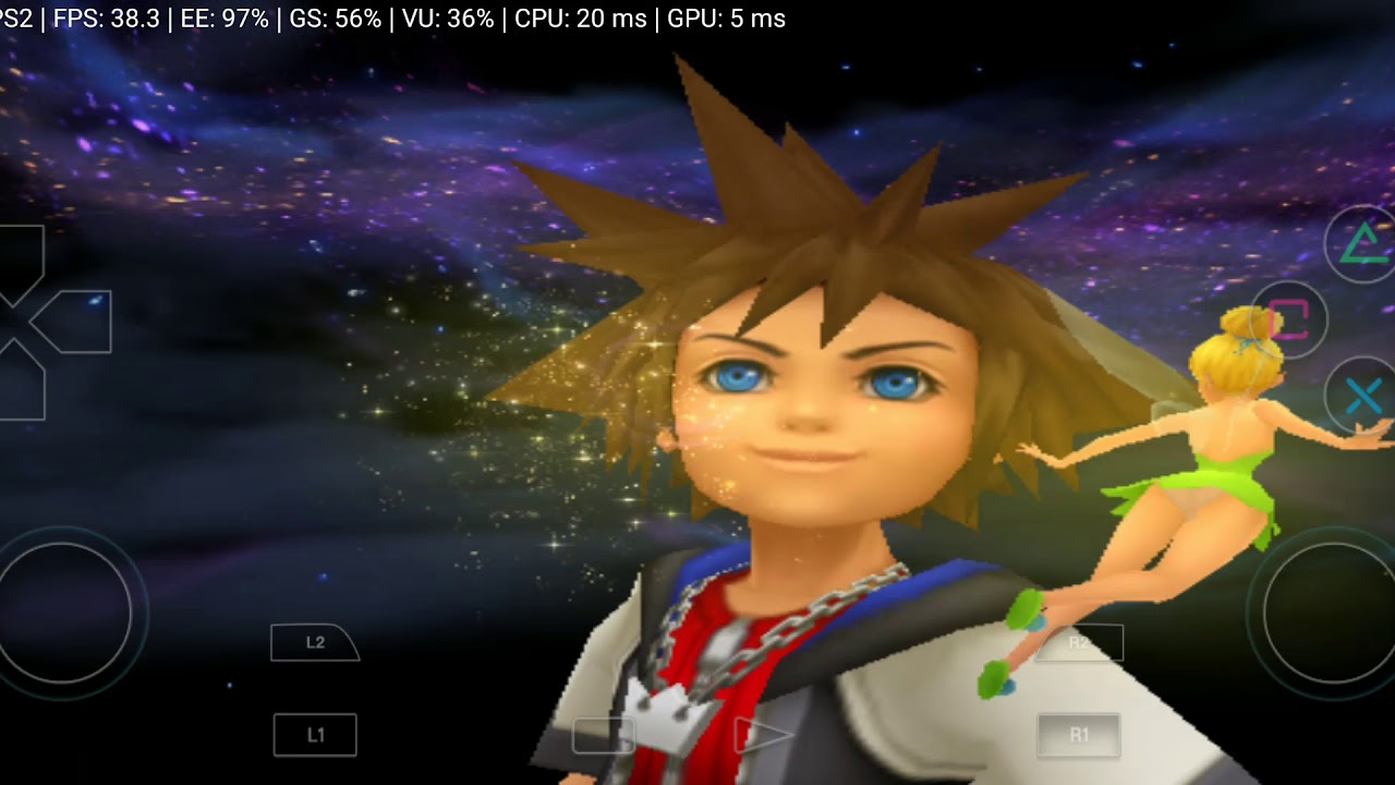 kingdom hearts 1 emulator