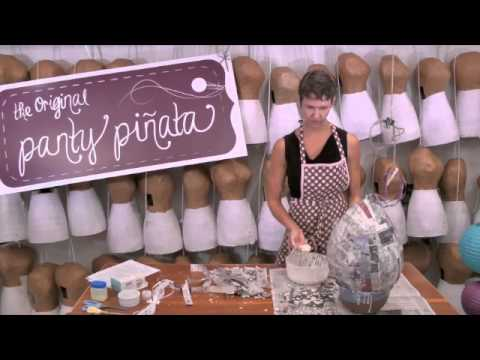 DIY Piñata: How to make a piñata big and strong enough for grown-ups