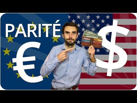 Conséquences parité EURO/DOLLAR : ça va vous COÛTER CHER !