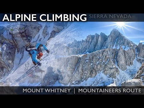 Mount Whitney Mountaineers Route | 04.23.2017