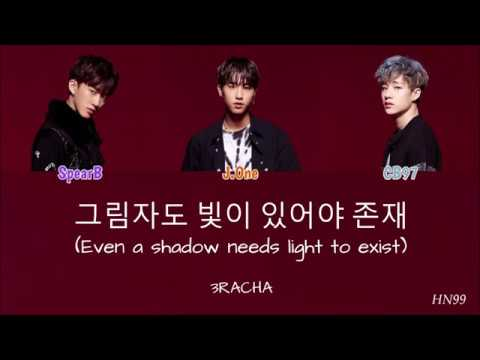 3RACHA - 그림자도 빛이 있어야 존재 (Even A Shadow Needs Light To Exist) (polskie Napisy, Color Coded)