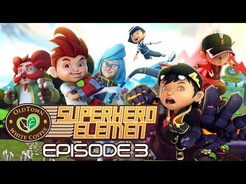 Oldtown White Coffee's Superhero Elemen: Perjuangan Superhero Elemen!