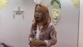 宇咲愛と歌おう チマッティのAve Maria (字幕付き)