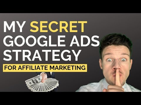 Make Crazy Profits With THIS Google Ads and Affiliate Marketing Strategy! (Step By Step Tutorial) thumbnail