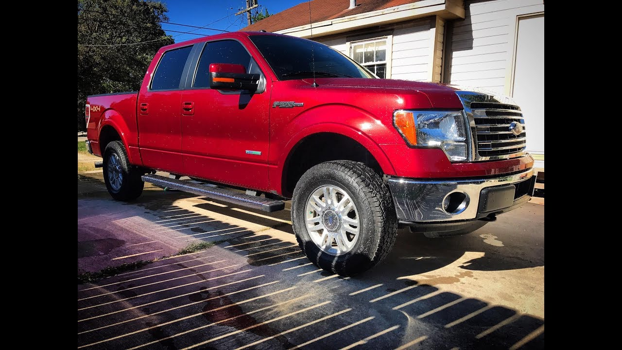 Leveling Kit Problems After Installation 2014 F150 Lariat Ecoboost