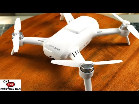 The CHEAPEST legitimate selfie drone YOU can get?  The Yuneec Breeze 4K!  Unboxing and First Flight!