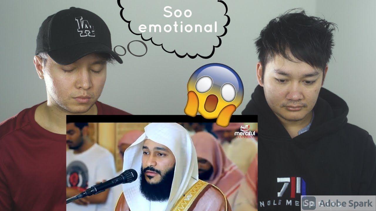 Download Christian & Muslim friends react to Incredible and Emotional Quran recitation #MercifulServant