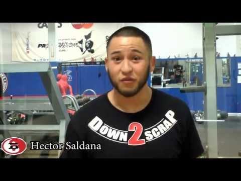 Hector Saldana Badbeat 17 Pre Fight Interview