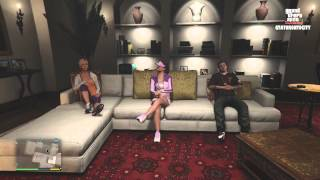 GTA V - Michael Kills His Family (Funny Moments) (Xbox One)