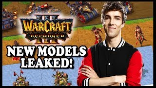 Grubby | Warcraft 3 Reforged | NEW MODELS LEAKED!!