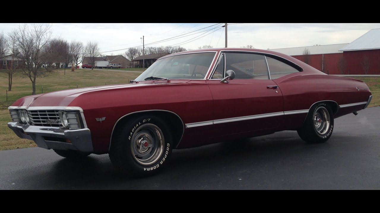 1967 chevy impala 283 engine auto 8 youtube. Black Bedroom Furniture Sets. Home Design Ideas