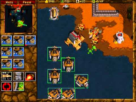 Warcraft 2: Tides of Darkness - Orc Campaign Gameplay - Mission 7 ...