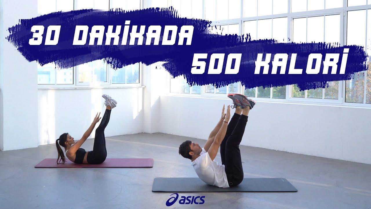 Download 30 dakikada 500 kalori için harekete geç!