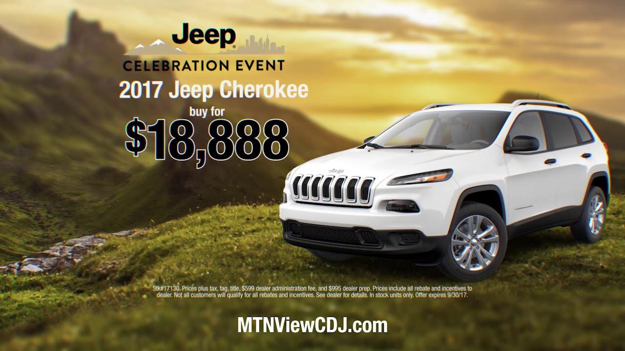 Mountain View Chrysler Dodge Jeep Ram Jeep Celebration Event - Midway jeep chrysler dodge ram