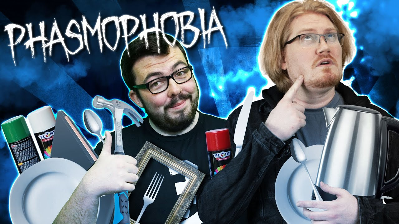 We Upset a Ghost by Stealing Her Stuff in Phasmophobia