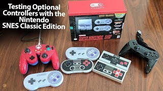 Can You Use Any Optional Controllers with the Nintendo SNES Classic Edition?