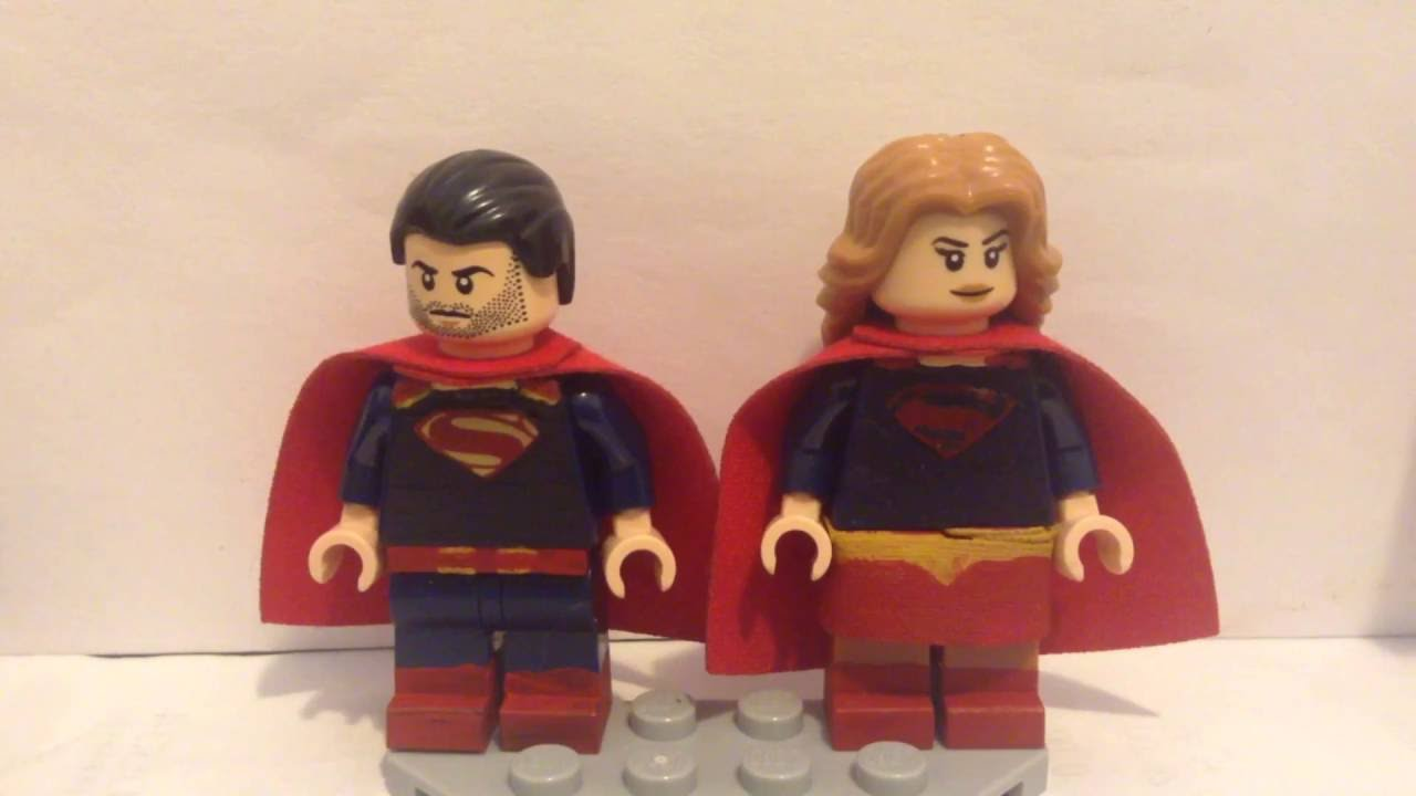 custom lego dc supergirl season 2 minifigures showcase