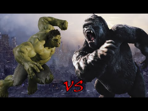 King Kong Vs Hulk Movie Hulk vs King Kong | SP...