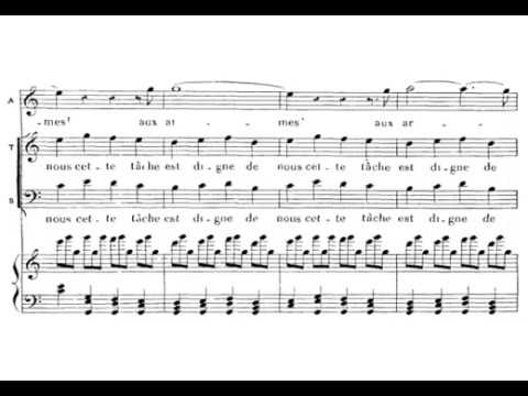 Asile héréditaire... Amis, amis (Guillaume Tell - G. Rossini) Score Animation