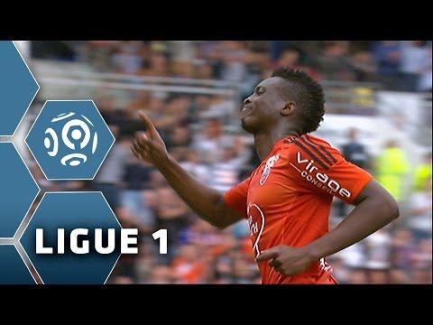 Goal Benjamin MOUKANDJO (90' pen) / FC Lorient - SC Bastia (1-1) - (FCL - SCB) / 2015-16