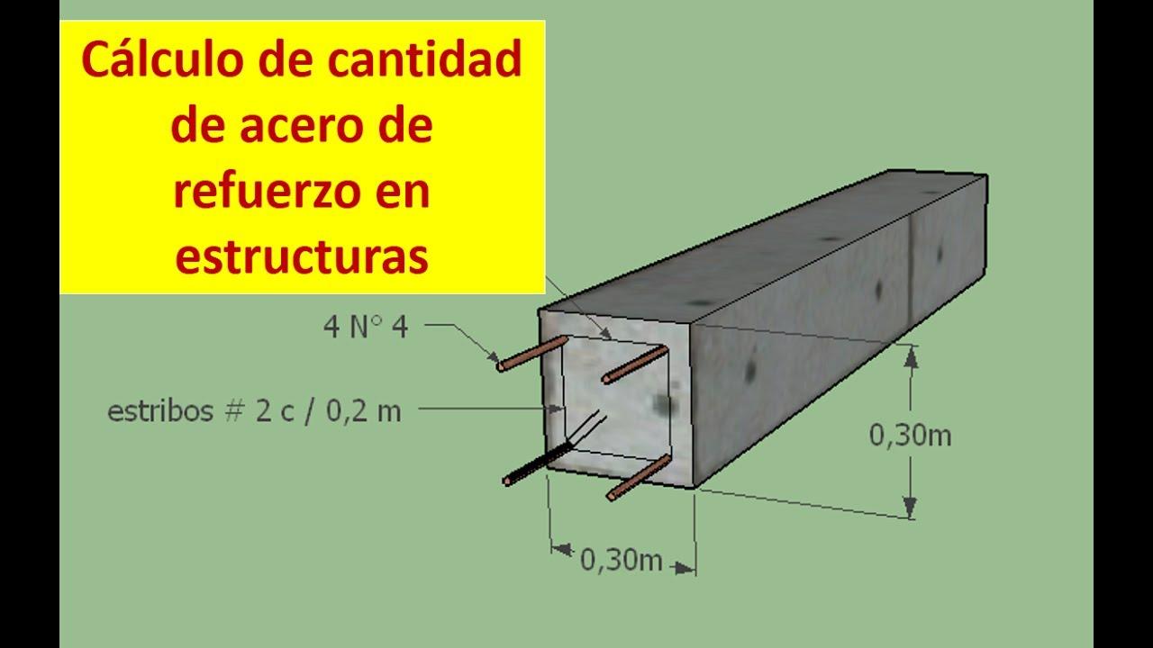 Como calcular cantidades de acero en estructuras youtube for Como se construye una casa