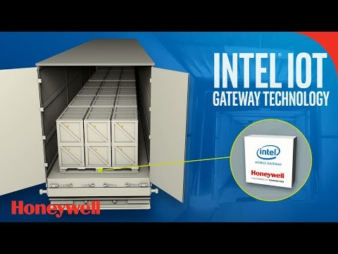 Connected Freight Solution from Honeywell and Intel: Logistics Shipment Monitoring