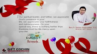 Happy Birthday...Dear Daison Achaaaa....