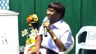 Pr.Moses Rajasekar at Jesus with us Prayer House, Kovilpatti - 21.11.2010 - பிரகாசமுள்ள மனக்கண்கள்