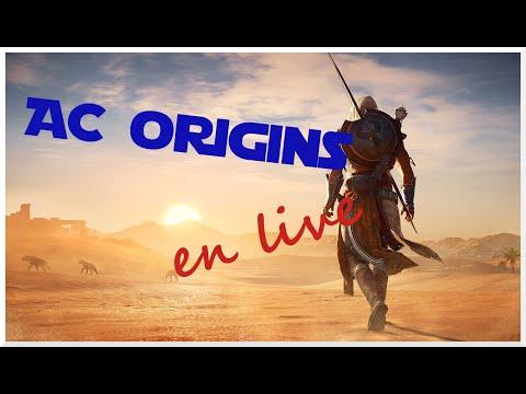 Petite session tranquille sur AC Origins ;) #1 - YouTube