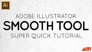 Adobe Illustrator Smooth Tool Tutorial screenshot 5