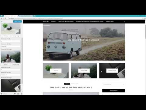 How to install the same demo. Z-Black - WP Blog Theme by ZThemes.net