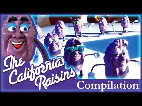 California Raisins Commercial Compilation