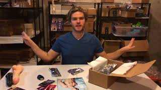 uNBOXING VIDEO: April/May 2018 Get Orgasmic Gay Sex Toy Subscription Box