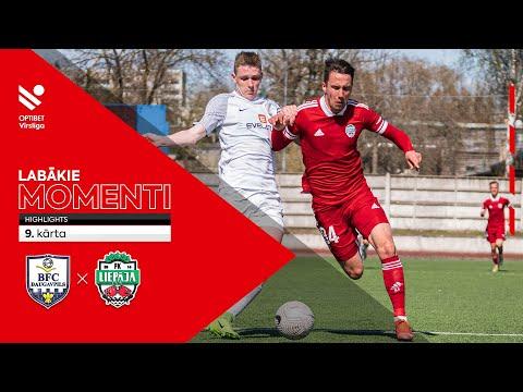 BFC Daugavpils FK Liepaja Goals And Highlights