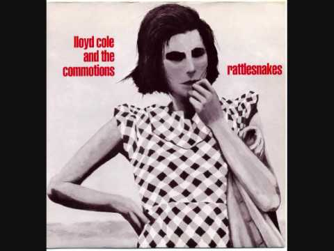 "LLOYD COLE & THE COMMOTIONS - 'Rattlesnakes' - 7"" 1984"