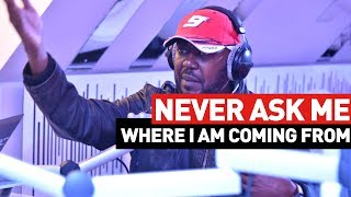 """""""Never ask me where i am coming from"""" - Andrew Kibe #NRGBreakfastClub"""