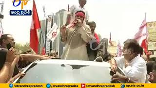 Pawan Kalyan, Left Party Leaders hold Padayatra for SCS
