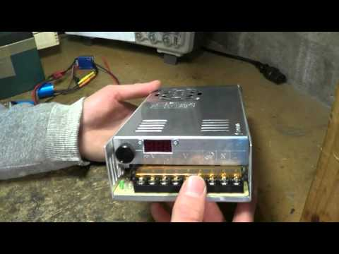 Modifying a S-400-12 switchmode power supply for variable ou