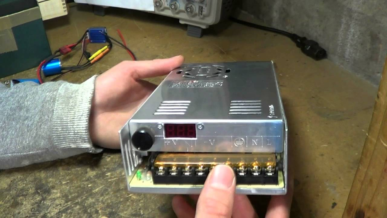 Modifying A S 400 12 Switchmode Power Supply For Variable Output Switch Mode Circuit Diagram Repair Voltage Youtube