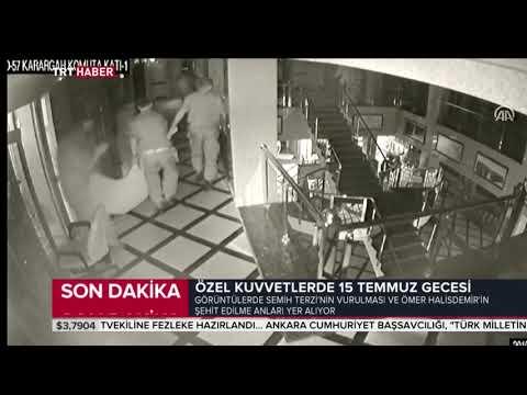 Ömer Halisdemir'in darbeci general Semih Terzi'yi vurduğu anın yeni görüntüleri