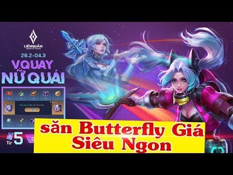 Vòng Quay Nữ Quái 12 Ô Butterfly Đông Êm Đềm sẽ NTN | Xuyên Cùi Mía