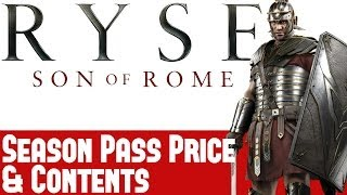 Ryse Son Of Rome News - Season Pass Price & Contents - 14 New Maps, New Mode & More